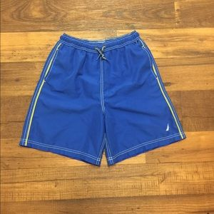 Pre-Owned Nautica Swim Shorts For Boys Size L.